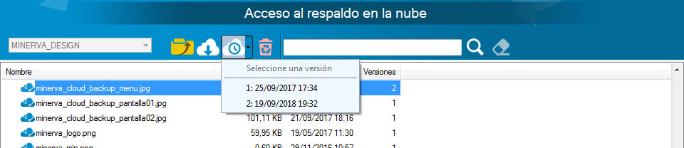 descargar Minerva Cloud Backup