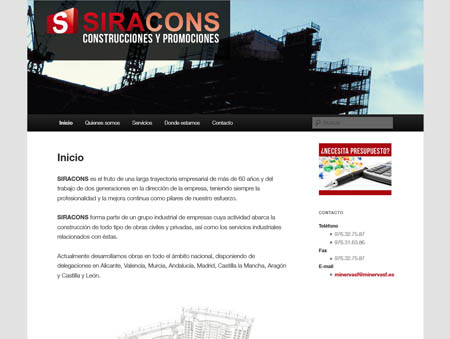 Microsite Siracons